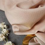 altelier brunette - dobby blush - ecovero viskose