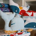 Marine too - Whale pattern