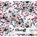 lillestoff - blommor - bio-sommersweat