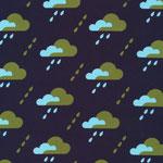 cloud9 - droplet, dark navy - bio-cord