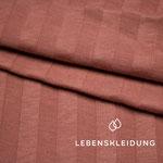 lebenskleidung - rippenjersey, rosenholz - bio-jersey