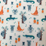 lillestoff - koalas and crocodiles - bio-jersey