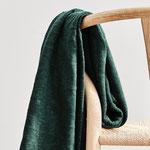 mindthemaker - organic slub jacquard knit, bottle green