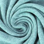 lillestoff - minze, melliert - bio-jersey