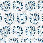 lillestoff - tiger titus, blau - bio-jersey