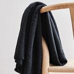 mindtheaker - organic slub jacquard knit, caviar