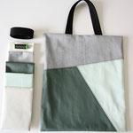 Die Tasche - grün - DIY Nähprojekt