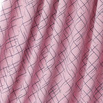 lillestoff - cross the lines pink/blue melange - bio-jersey