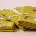 stoffart - stoffpakete warmolive - bio-baumwolle