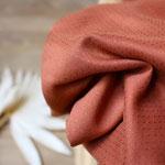 atelier brunette - dobby chestnut - ecovero viskose