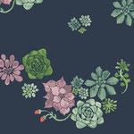 monaluna - desert floral - bio-baumwolle