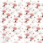 elvelyckan - shellie, dusty pink - bio-jersey