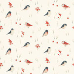 birch - love birds - bio-baumwolle