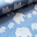stoffonkel - elephant, stonewashed - bio-jersey