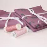 stoffart - stoffpakete duskyorchid - bio-baumwolle