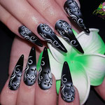 Bild - Feel Good Nails - Gel Stilettos mit Airbrush
