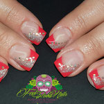 Bild - Feel Good Nails - French mit Glitzer