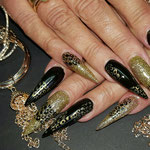 Bild - Feel Good Nails - Acryl Stilettos mit Stempel