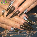 Bild - Feel Good Nails - Gel Stilettos mit Strass
