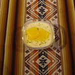 バジル風味の豆花