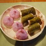 桜餅(関東風&関西風)