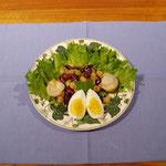 ミント風味の豆サラダ