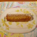 メープル風味のアップルケーキ