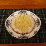 黄桃のシュトロイゼルケーキ