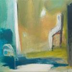 Figur im Raum-mein Gegenüber VII, 2019, Acryl auf Leinwand, 70x70cm