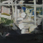"""Ein Ausblick"" 30cm x 40cm, Acryl auf Leinwand, 2013"