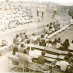 Actividad en el colegio. año 1970