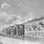 Проспект Ленина, слева - политехникум.