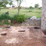 Fundamente für die Whirlpool-Terrasse