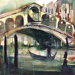 2016 / Venedig, Ponte di Rialto /  30 x 40 cm