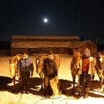 moonlight ride at -20 degrees