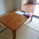 客室は清掃時に、共用部分は定期的に消毒を行っております