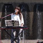茅ヶ崎の歌姫♫ HARUNAちゃんのステージも最高でした。
