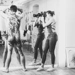 Männerportraits - Männerakt - Bodypainting für Männer Bodyart Männer Fotografin für Männerportraits Talia Geschenkidee für Männer