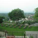 Ausblick vom Seminarraum in der Grimmwelt Kassel