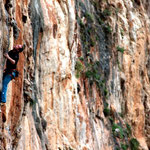 Climber: Marc Lüthi / Photo: Stefan Joller / Location: Never Sleeping Wall, Sizilien