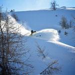 Rider: Stefan Joller / Photo: Magnus Strömfelt / Location: Grimentz, Val d'Anniviers
