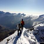 Photo:  Unknown Climber / Climbers:  Jonas & Stefan Joller / Location: Matterhorn, Switzerland
