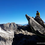 Photo:  Stefan Joller / Climber: Jonas / Location: Gross Furkahorn ESE-Grat, Furka, Switzerland