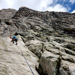 Photo: Stefan Joller / Climber: Dominik / Location: Herbstwind, Piansecco, Val Bedretto