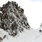 Photo: Stefan Joller / Skier: Mäsi / Location: Canalone del Diavolo, Passo del Tonale, Italy