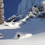 Rider: Daniel Perret / Photo: Stefan Joller / Location: Brisen, Switzerland