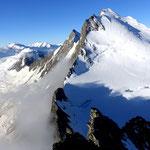 Photo: Stefan Joller / Location: Dom (von der Lenzspitze aus aufgenommen), Saas Fee