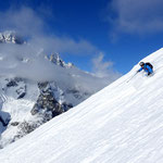 Photo: Stefan Joller / Skier: Dominik / Location: Courmayeur, Italy
