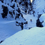 "Photo: Stefan Joller / Skier: Philipp / Location: ""El Canal del Emperador"" Chaiserstuel, Engelberg Valley"