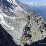 Photo: Stefan Joller / Location: Aiguille du Peigne, Chamonix
